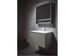 Mobile lavabo sospeso con cassettiCUBE   Mobile lavabo sospeso - INBANI