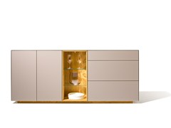 cubus pure highboard by team 7 nat rlich wohnen design sebastian desch. Black Bedroom Furniture Sets. Home Design Ideas