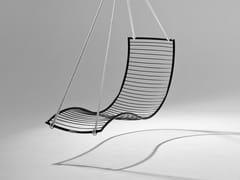 Seduta sospesa a 1 posto in acciaio verniciato a polvereCURVE   Seduta sospesa - STUDIO STIRLING