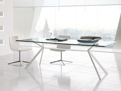 - Rectangular steel table CUT | Rectangular table - ALIVAR