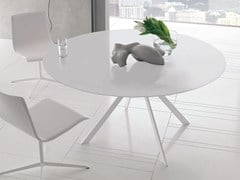- Round steel table CUT | Round table - ALIVAR