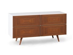 - Lacquered walnut chest of drawers CITY | Chest of drawers - Oliver B.