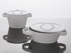 Casseruola ovale in ceramica con coperchioCasseruola - ADRIANI E ROSSI EDIZIONI