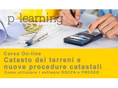 Corso di Catasto dei terreni e nuove procedure catastali Catasto dei terreni e nuove procedure - P-LEARNING