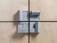 - Concrete Furniture knob / architectural model Community #1 - Material Immaterial studio