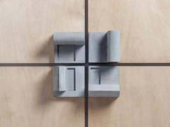 - Concrete Furniture knob / architectural model Community #4 - Material Immaterial studio