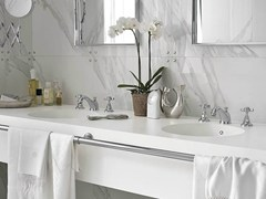 - Double round Corian® washbasin Corian® PURITY - DuPont de Nemours Italiana - DuPont ProtectionSolutions