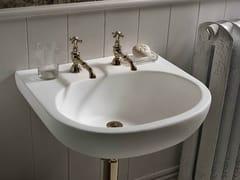- Single wall-mounted Corian® washbasin Corian® CALM - DuPont de Nemours Italiana - DuPont ProtectionSolutions