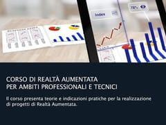 Corso di realtà aumentata per ambiti professionali e tecniciCorso di realtà aumentata - UNIPRO