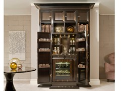 Cantinetta frigo / mobile bar in legnoD 1495 | Mobile bar - ANNIBALE COLOMBO
