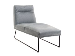 Chaise longue in pelleD-LIGHT | Chaise longue - KFF