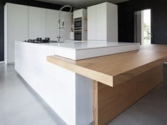 - Kitchen with island D90 | Quartz kitchen - TM Italia Cucine