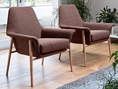 - Fabric easy chair DAFNE | Fabric easy chair - Dall'Agnese