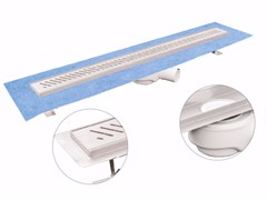 Canale e griglia in acciaio inox per docciaDAKUA+ OBLÌ - DAKOTA GROUP