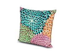 Cuscino quadrato in tessutoDALIA RAINBOW | Cuscino quadrato - MISSONI HOME