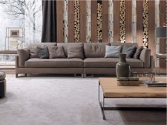 - Sectional leather sofa DAVIS IN | Leather sofa - FRIGERIO POLTRONE E DIVANI