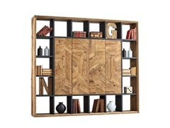 - Pine bookcase DB004545 | Bookcase - Dialma Brown