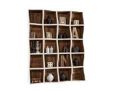 - Open lacquered modular pine bookcase DB004562 | Modular bookcase - Dialma Brown