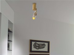 - Faretto a LED orientabile in alluminio a soffitto DECÒ | Faretto - GLIP by S.I.L.E