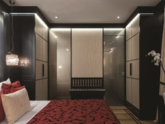 - Satin glass door DECORFLOU® REFLECTING - OmniDecor®