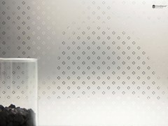 - Decorated glass DECORFLOU® WINDOW - OmniDecor®