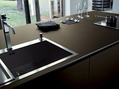 - Stained glass kitchen worktop DECOROPAL® - OmniDecor®