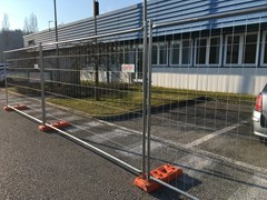 - Temporary fencing system DEFENDER HD - NUOVA DEFIM