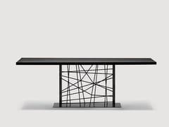 - Rectangular dining table DEFRAME | Rectangular table - da a