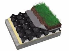 - Honeycombed and textured membrane DELTA® - FLORAXX FLAT - DÖRKEN ITALIA