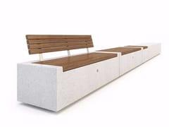 - Modular Bench DEMETRA - Bellitalia