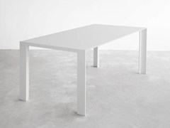 - Lacquered rectangular MDF table DENEB | Lacquered table - STUA