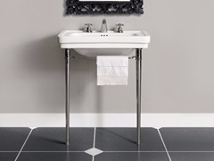 - Console washbasin with towel rail DESDEMONA | Console washbasin - BATH&BATH