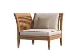- Corner fabric garden armchair DESERT CORNER MODULE - Atmosphera