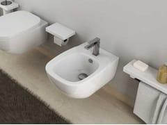 - Ceramic bidet DIAL | Wall-hung bidet - Hidra Ceramica
