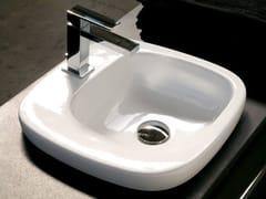 - Inset ceramic washbasin DIAL | Inset washbasin - Hidra Ceramica