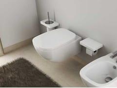 - Ceramic toilet DIAL | Wall-hung toilet - Hidra Ceramica