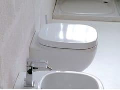 - Wall-hung ceramic toilet DIAL - Hidra Ceramica