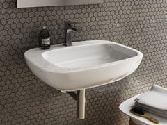 - Ceramic washbasin DIAL | Wall-mounted washbasin - Hidra Ceramica