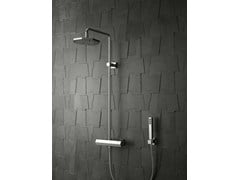 - Shower tap with hand shower with overhead shower DIAMOND | Shower tap with overhead shower - Signorini Rubinetterie