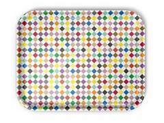 - Laminate tray DIAMONDS MULTICOLOUR - Vitra