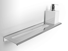 - Metal bathroom wall shelf DIANTHA | Bathroom wall shelf - Alna