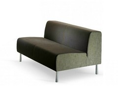 - 2 seater fabric sofa SMOOTH | 2 seater sofa - ISD