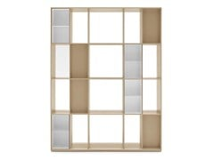 - Freestanding double-sided MDF bookcase DIVISION | Double-sided bookcase - Calligaris
