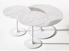 Tavolino rotondo in marmoDIZZIE | Tavolino in marmo - ARPER