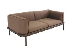 - Modular 2 seater garden sofa DOCK | 2 seater sofa - EMU Group S.p.A.