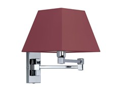 - Canvas wall light with swing arm DOMINIQUE 18-30 - Quicklighting