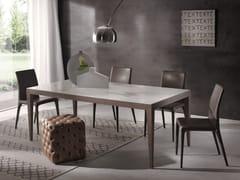 - Rectangular table DOMINIQUE | Ceramic table - Pacini & Cappellini