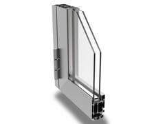 Porta a battente a taglio termico in alluminioDOOR 62/72 - ALSISTEM