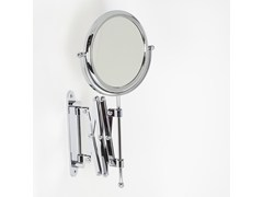 Specchio ingranditore bifacciale rotondo a pareteDOPPIOLINO | Specchio ingranditore a parete - KOH-I-NOOR CARLO SCAVINI & C.