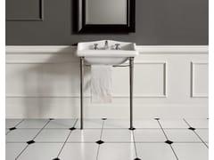 - Lavabo a consolle con porta asciugamani DOROTHY | Lavabo a consolle - BATH&BATH